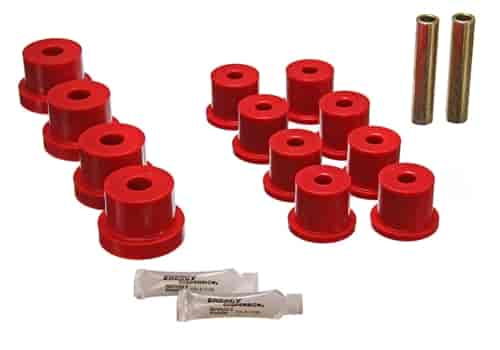 Energy Suspension 3-2101R - Energy Suspension Front & Rear Leaf Spring Bushings
