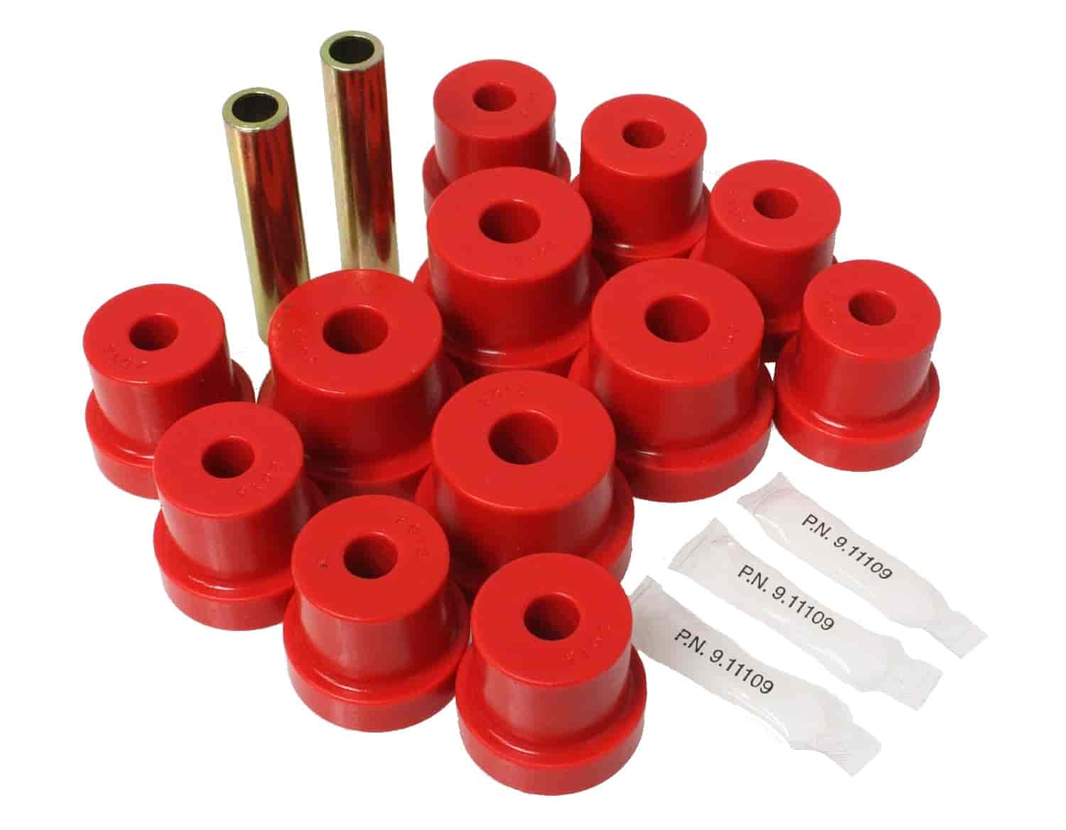 Energy Suspension 3-2103R - Energy Suspension Front & Rear Leaf Spring Bushings