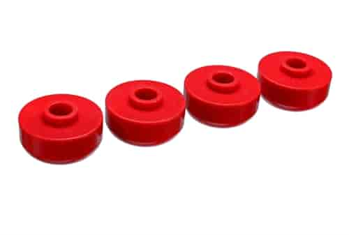 Energy Suspension 3-2104R - Energy Suspension Front & Rear Leaf Spring Bushings