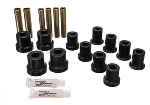 Energy Suspension 3-2112G - Energy Suspension Front & Rear Leaf Spring Bushings