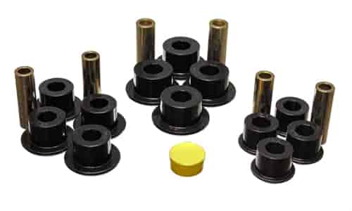 Energy Suspension 3-2141G - Energy Suspension Front & Rear Leaf Spring Bushings