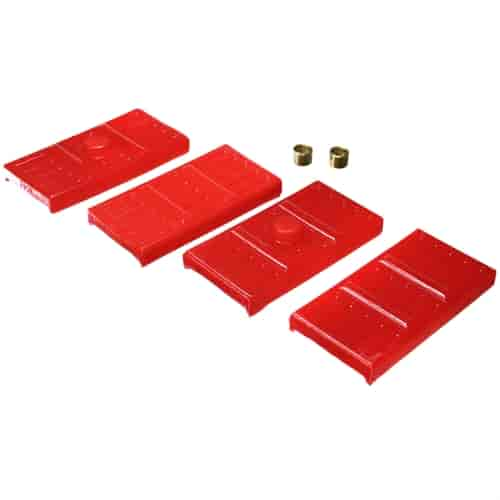 Energy Suspension 3-6113R - Energy Suspension Leaf Spring Pads