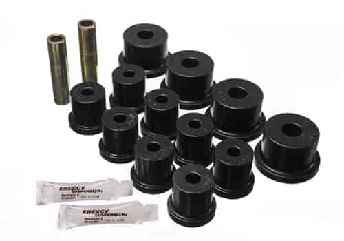 Energy Suspension 4-2101G - Energy Suspension Front & Rear Leaf Spring Bushings