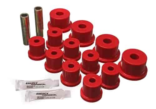 Energy Suspension 4-2101R - Energy Suspension Front & Rear Leaf Spring Bushings