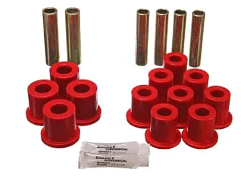 Energy Suspension 4-2114R - Energy Suspension Front & Rear Leaf Spring Bushings