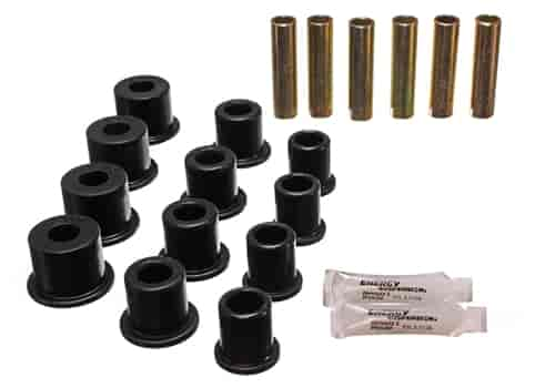 Energy Suspension 4-2134G - Energy Suspension Front & Rear Leaf Spring Bushings