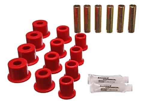 Energy Suspension 4-2134R - Energy Suspension Front & Rear Leaf Spring Bushings