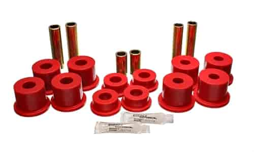Energy Suspension 4-2142R - Energy Suspension Front & Rear Leaf Spring Bushings