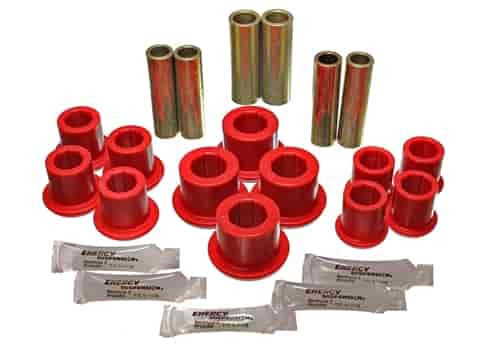 Energy Suspension 4-2150R - Energy Suspension Front & Rear Leaf Spring Bushings