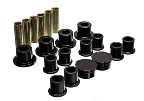 Energy Suspension 4-2154G - Energy Suspension Front & Rear Leaf Spring Bushings