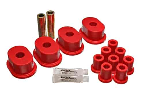 Energy Suspension 5-2110R - Energy Suspension Front & Rear Leaf Spring Bushings