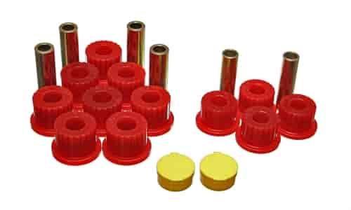 Energy Suspension 5-2111R - Energy Suspension Front & Rear Leaf Spring Bushings