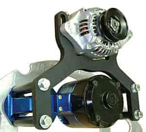 East Coast Auto Electric 2240 - East Coast Auto Electric Alternator Mounts, Pulleys, and Wiring