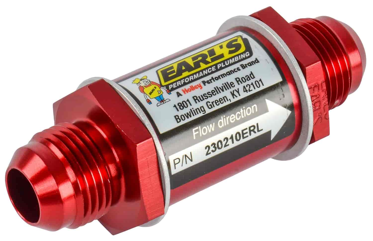 Earls 230210 In Line Fuel Filter 10an Male Fittings Jegs 1954 Chevrolet Truck Filters