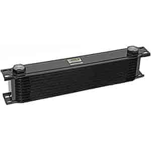 Earl's 40700A - Earl's Temp-A-Cure Wide Oil Coolers
