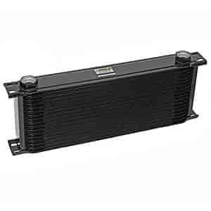 Earl's 41600A - Earl's Temp-A-Cure Wide Oil Coolers
