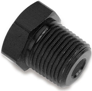 Earl's AT993301 - Earl's Ano-Tuff Hex and Allen Head NPT Pipe Plugs