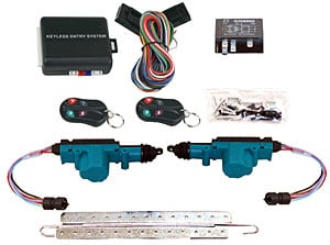 Electric Life 95120 Keyless Entrypower Door Lock Kit Converts