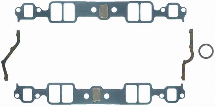 Fel-Pro H/P Intake Gasket Small Block Chevy 262-400 V8 Engines