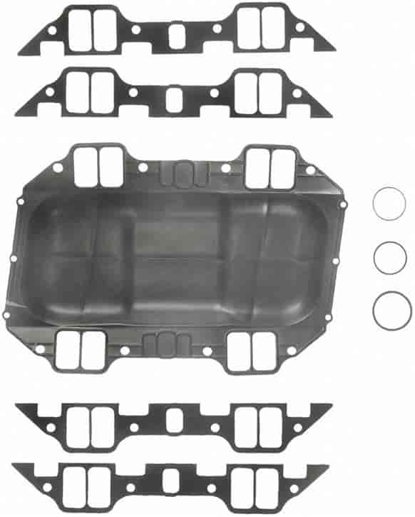 Side Window Deflectors >> Fel-Pro 1214: H/P Intake Gasket Chrysler 361, 383, 400 V8 ...