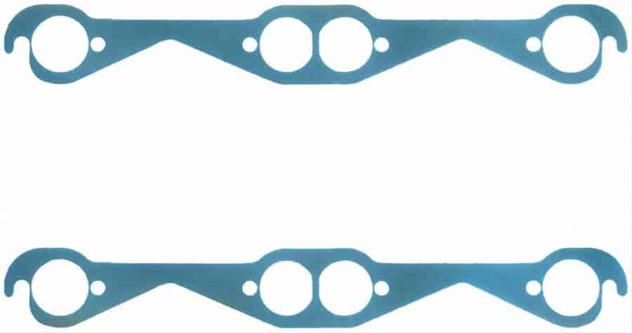 Small Block Chevy 1-5//8 Inch Oval Port Extreme Exhaust Gaskets