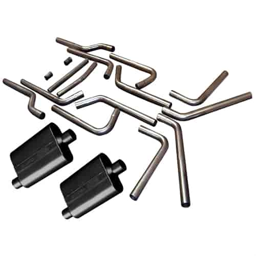 Flowmaster 15937K - Flowmaster U-Fit Dual Exhaust Pipe Kits