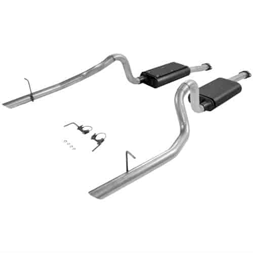 Flowmaster 17114 - Flowmaster Force II Exhaust Systems - Cars