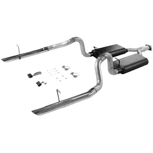 Flowmaster 17276 - Flowmaster Force II Exhaust Systems - Cars