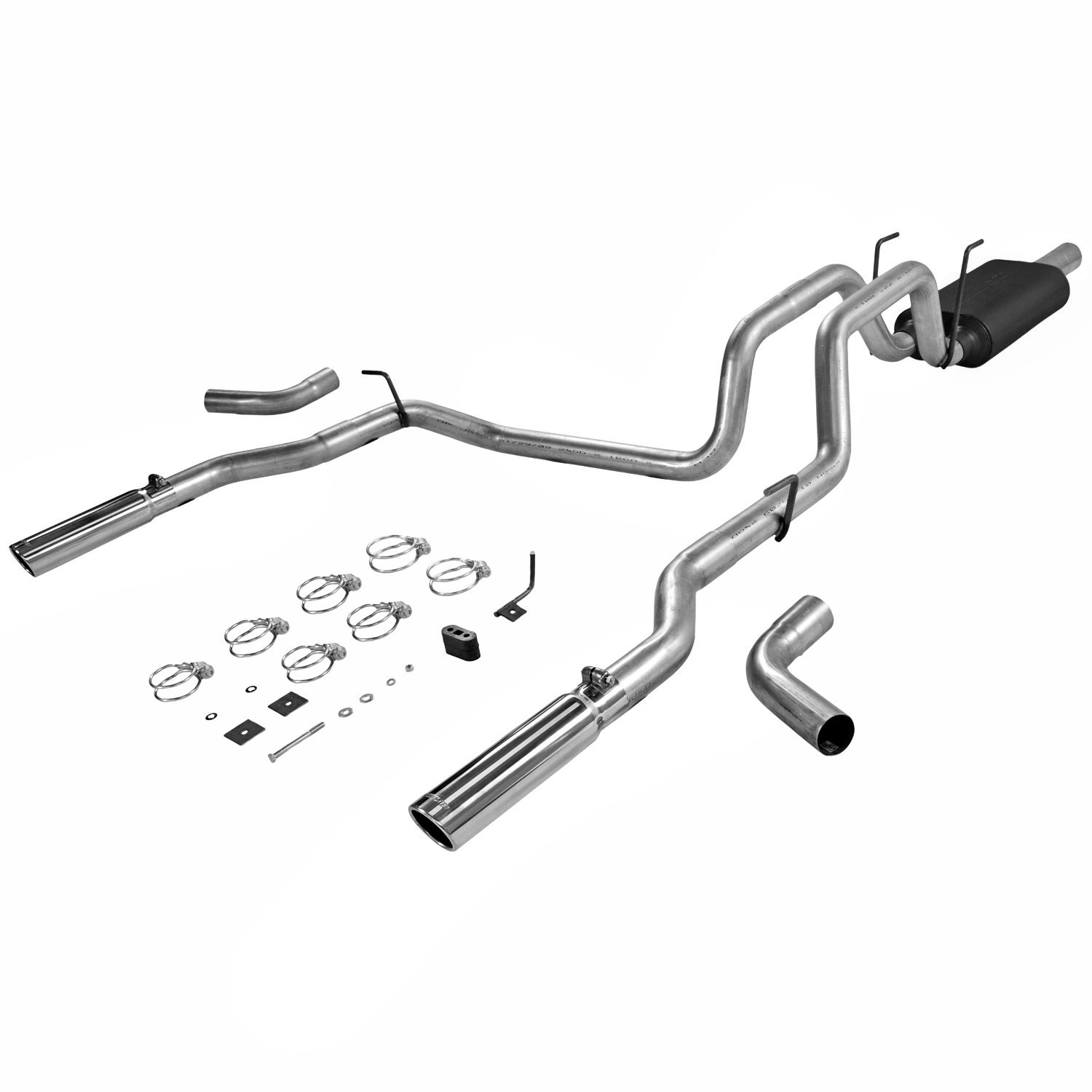 Flowmaster 17424 - Flowmaster American Thunder Exhaust Systems - Truck/SUV