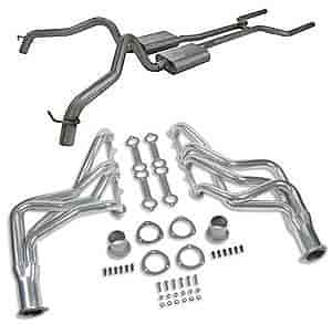 Flowmaster 817158K - Flowmaster American Thunder Header-Back Exhaust Systems