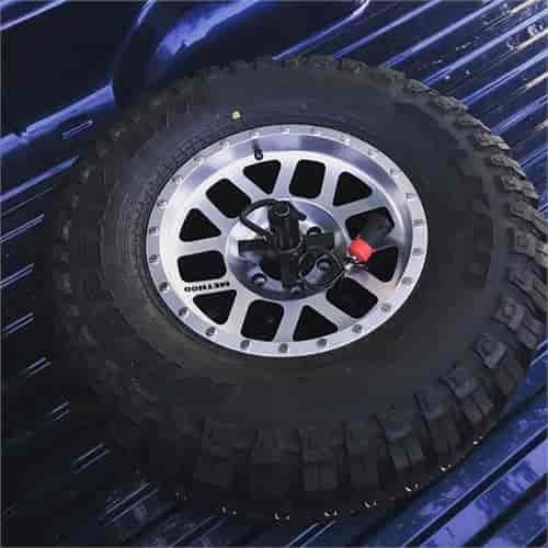 Tiregate UBM3030: Bed Mount Universal Tire Carrier | JEGS