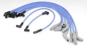CONTINENTAL 1984-1987 302 5.0L BLUE Spark Plug Wires LINCOLN MARK VII TOWN CAR