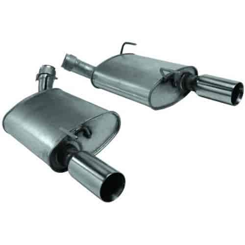 Ford Racing M-5230-GTB - Ford Racing Muffler & Exhaust Kits