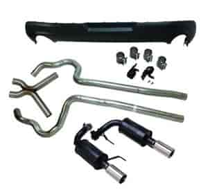 Ford Racing M-5230-MV62 - Ford Racing Axle Back Exhaust Kits