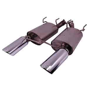 Ford Racing M-5230-MV6CA - Ford Racing Axle Back Exhaust Kits