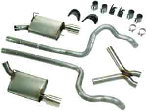 Ford Racing M-5230-V6 - Ford Racing Cat-Back Exhaust