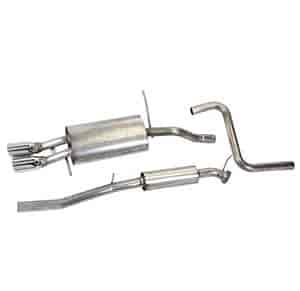Ford Racing M-5230-FAC - Ford Racing Cat-Back Exhaust
