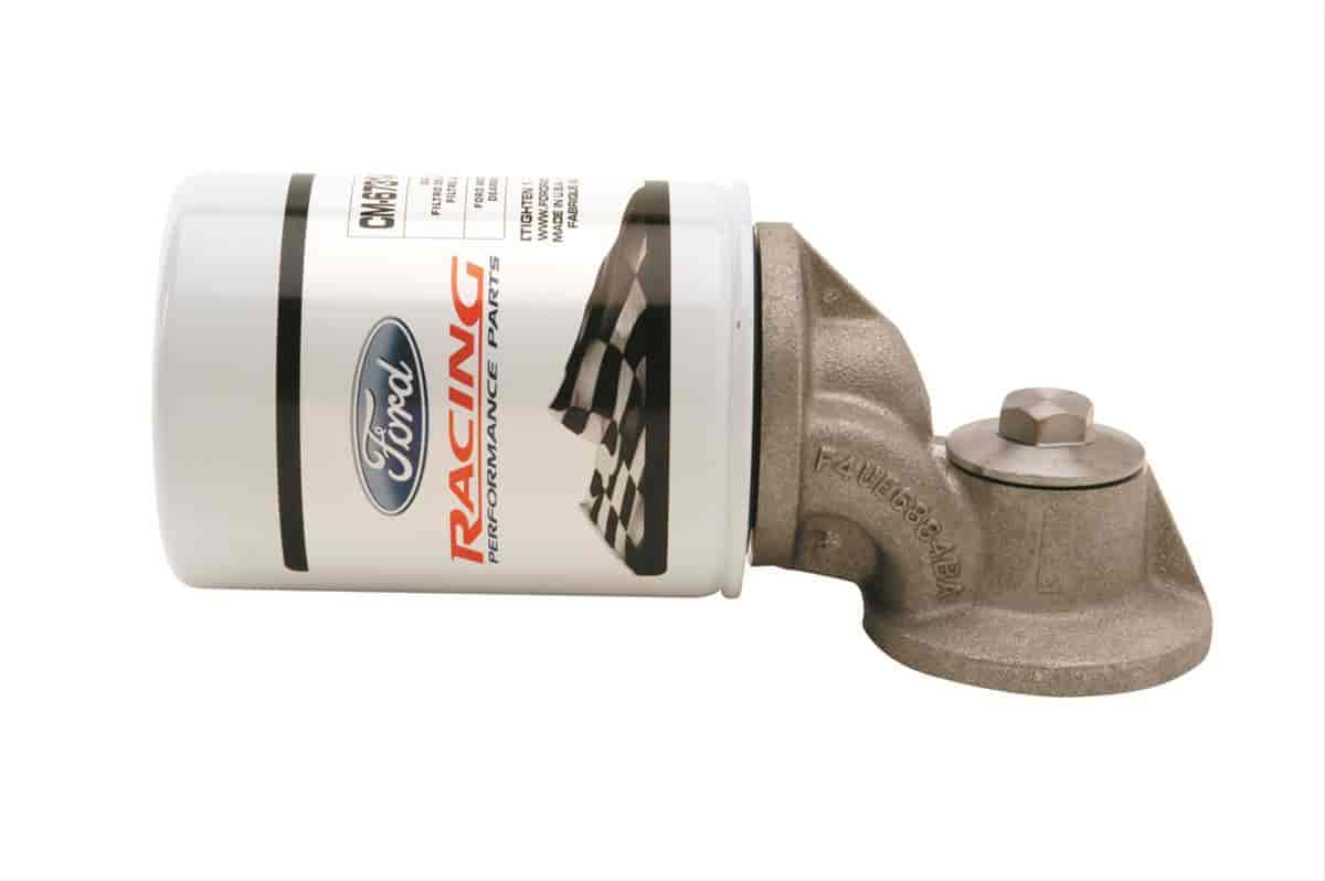 Ford Racing M-6880-A50 - Ford Motorsports Oil Filter Adapter