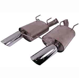 Ford Racing M5230MSVTCA - Ford Racing Axle Back Exhaust Kits