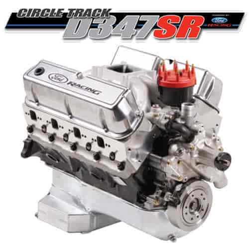 Ford Racing M-6007D347SR - Ford Racing 347 CI Long Block Crate Engine