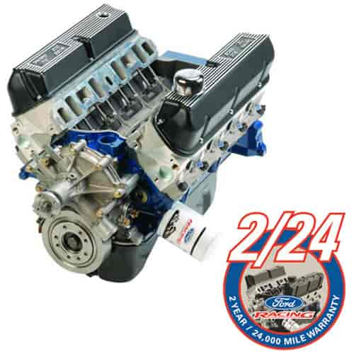 Ford Racing M-6007-X302E - Ford Racing Boss 302 Long Block Crate Engine