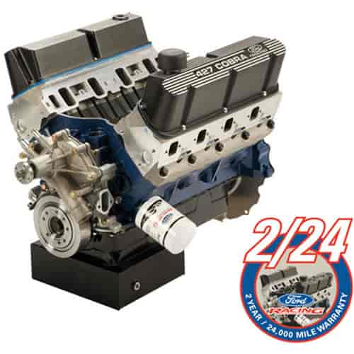 Ford Racing M6007X427FFT - Ford Racing 427 CI X-Head Long Block Crate Engine