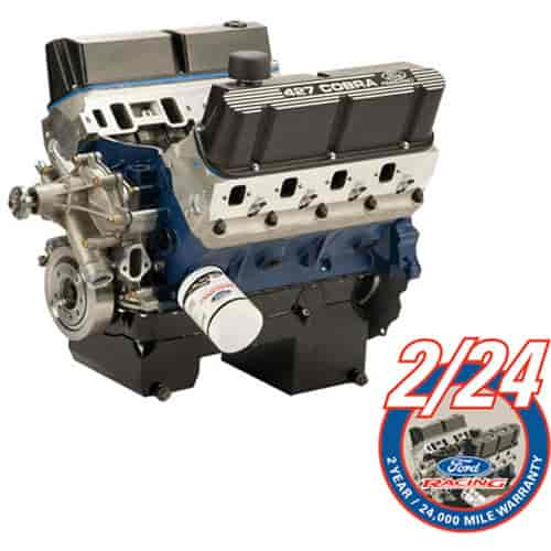 Ford Racing M6007X427FRT - Ford Racing 427 CI X-Head Long Block Crate Engine