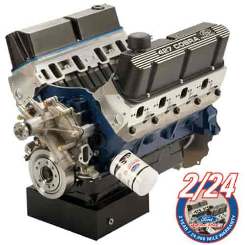 Ford Racing M6007Z427FFT - Ford Racing 427 CI Z-Head Long Block Crate Engine