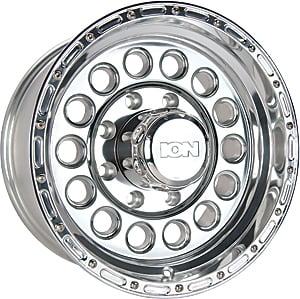Detroit Wheels 145-6861P - Ion Bargain Wheels