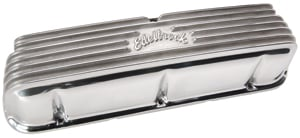 Edelbrock 4160 - Edelbrock Classic Series Valve Covers & Air Cleaners