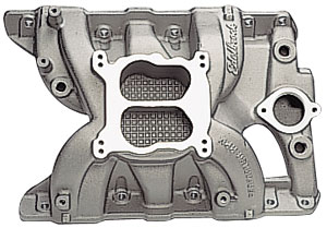 Edelbrock 7156 - Edelbrock Performer RPM Manifolds & Kits for Pontiac