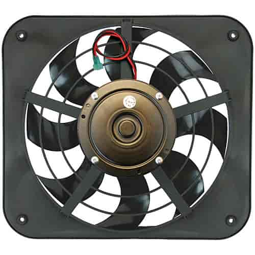 Flex-a-lite 143 - Flex-a-lite S-Blade Low Profile Universal Electric Fans