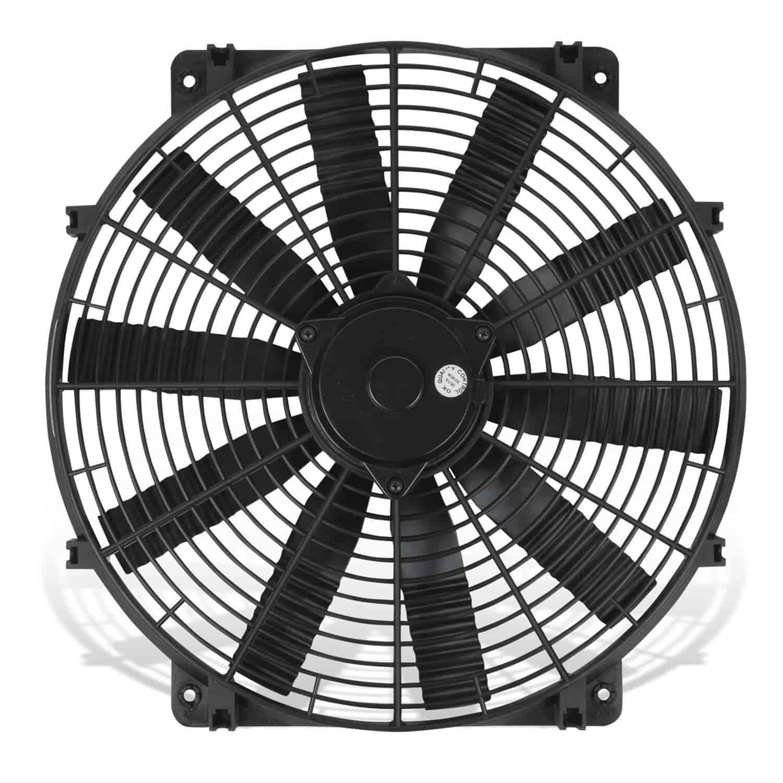 Flex-a-lite 114 Black 14 Trimline Electric Fan reversible