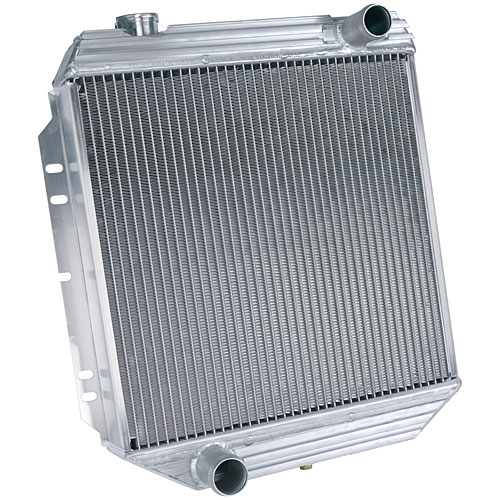 Flex-a-lite 50064R1 - Flex-a-lite Engine-Swap Aluminum Radiators for 1964-69 Mustang